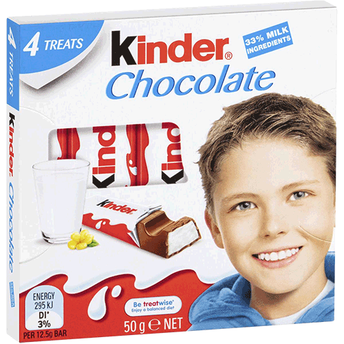 Kinder Chocolate T 4